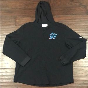 Miami Marlins Pullover Sweatshirt